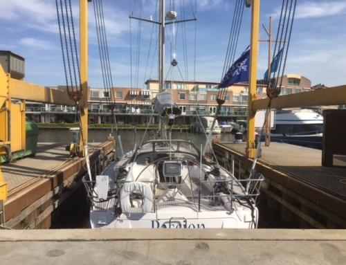 Boot en motor onderhoud voor vertrek