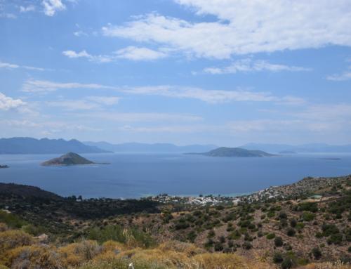 Aegina, veerboten, koetsen en een quad