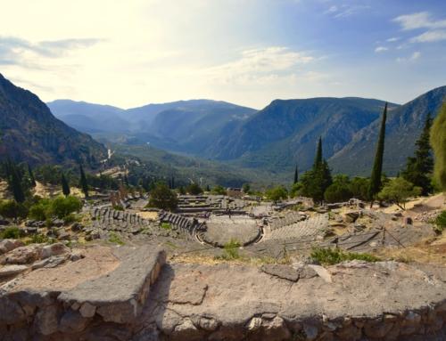 Oud Delphi prachtige bezienswaardigheden