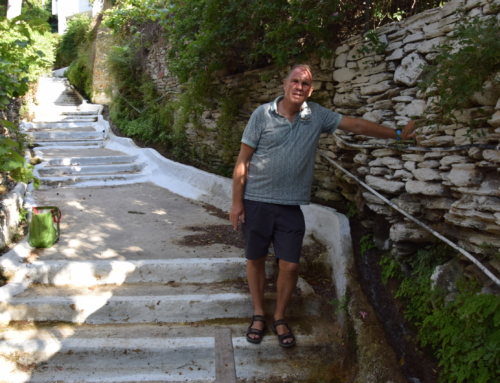 Batsi een leuk stadje op eiland Andros