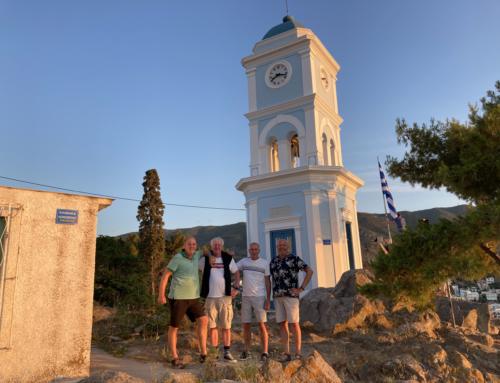 Opstart vaarseizoen 2021 en rondom Peloponessos naar Attica