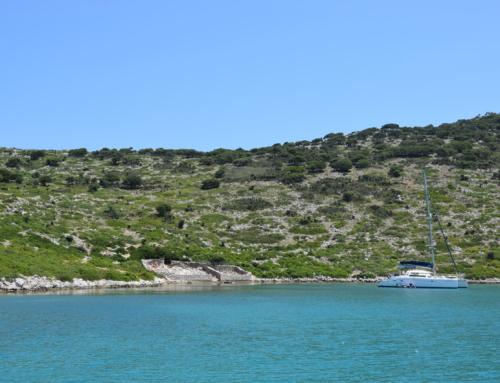 Kyra Parnagia grote beschutte baai