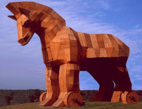 Hoe het paard van Troje na ruim 3000 jaar nog steeds werkt…